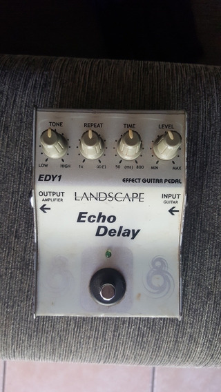 Pedal Echo Delay Landscape