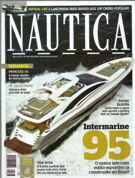 987 Revista 2017- Rvt- Náutica- Nº. 343- Mar- Intermarine 95