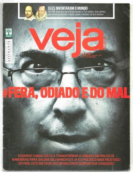 Revista Veja 2475 - Eduardo Cunha- Punk Rock - Shakespeare
