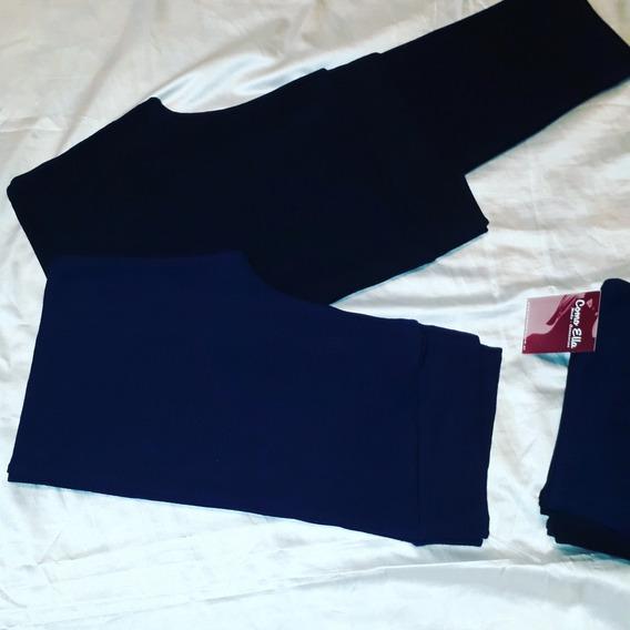 Calzas Algodon Con Lycra Largas Talles 1-2-3-4-5