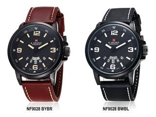 Naviforce Nf9028 Cuero Estilo Moderno Producto De Calidad