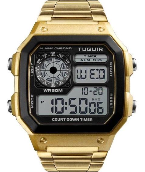 Relógio Tuguir Masculino Barato Original Garantia Nfe
