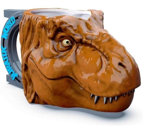 Taza 3d T-rex Jurassic World
