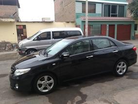 Toyota Corolla Gli Motor 1.6 Año 2014 Color Negro