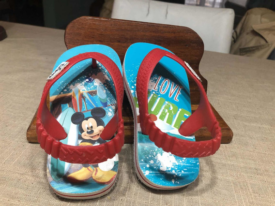 Ojota Disney Mickey Love Surf