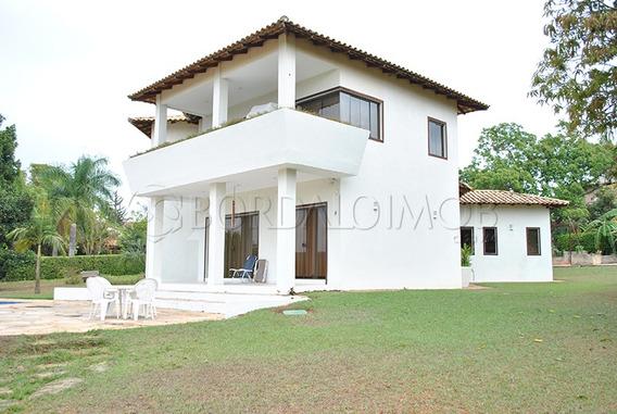 Casa De 331m², Piscina E Uma Vista Maravilhosa Para Reserva Da Unb. - Villa119380