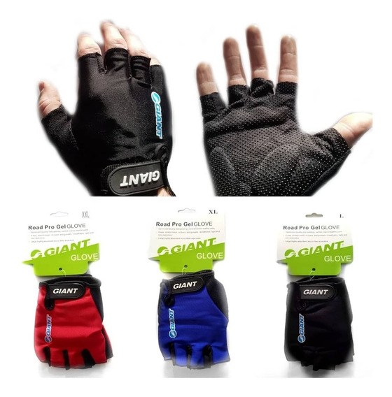 Guantes Para Ciclismo Giant Con Gel - Star Cicles