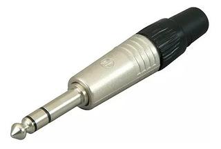 Neutrik Np3c Ficha Plug 1/4 Trs Estéreo Macho Metalico