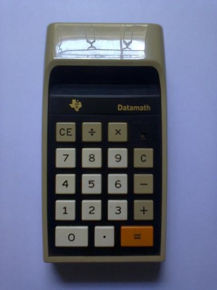 Calculadora Vintage Texas Ti-2500 - Com Capa - Veja Vídeo