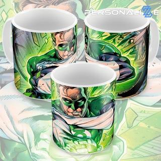 Caneca Lanterna Verde Quadrinhos Hq Dc Comics Modelo 08 M