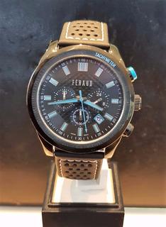 Reloj Hombre Feraud Cronografo 30% Off X Local + Regalo !!!!