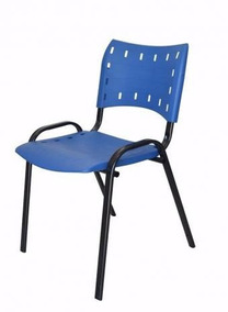 Cadeira Fixa Iso (assento/encosto Plastico) Vendas Só Recife