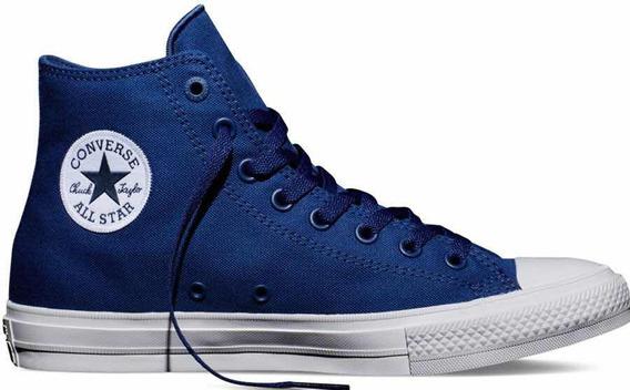 Converse Chuck Taylor 2 Hi Azul Lunarlon