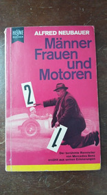 Livro De Memórias Em Alemão Do Chefe Da Equipe Mercedes 1959
