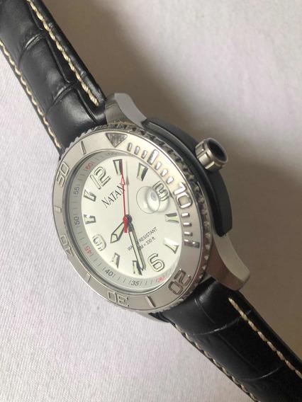 Relógio Natan Mostrador Branco