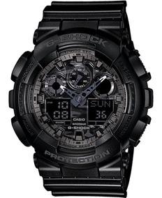 Relógio Masculino Casio G-shock Ga-100cf-1adr Preto