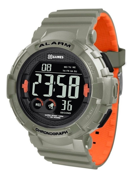 Relógio X-games Analógico Esportivo Xmppd532 Pxio