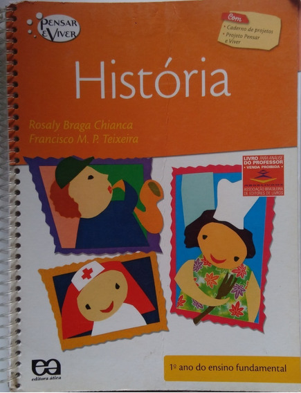 História 1º Ano Ensino Fundamental Pensar&viver