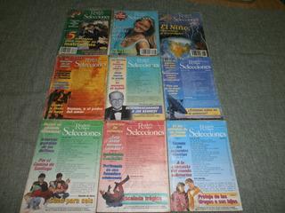 Lote De 9 Revistas Antiguas De Selecciones Años 95/96/97/98