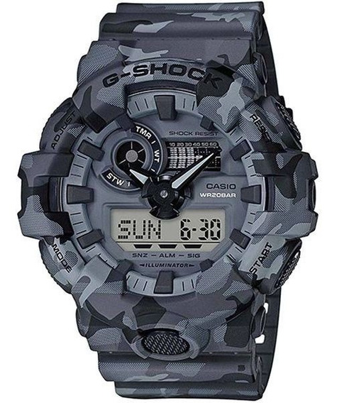 Relógio Casio G-shock Camuflado Ga-700cm-8adr