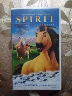 Vhs Spirit El Corcel Indomable (2002)