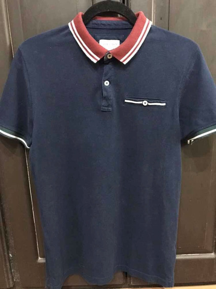Polo Sfera Slim Fit Talla M Mediana