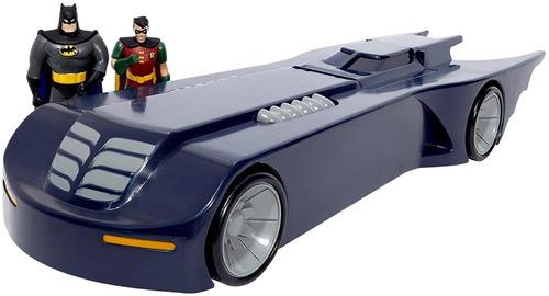Imagen 1 de 4 de Nj Croce Batimovil Batman Animated Series Con Figuras