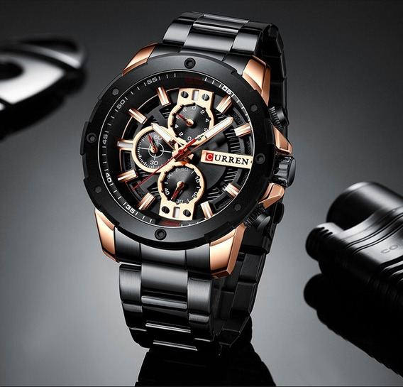 Relógio Importado Curren 8336 Modelo 2019 Lançamento Luxuoso