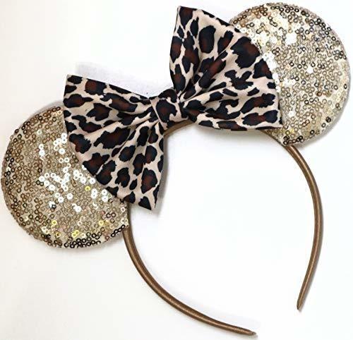 Leopard Ears Cheetah Mickey Orejas Leopard Minnie Ears Cheet