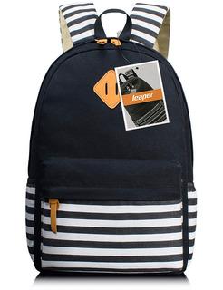 Leaper Casual Laptop Mochila Escuela Bolsa Hombro Bolsa Moch