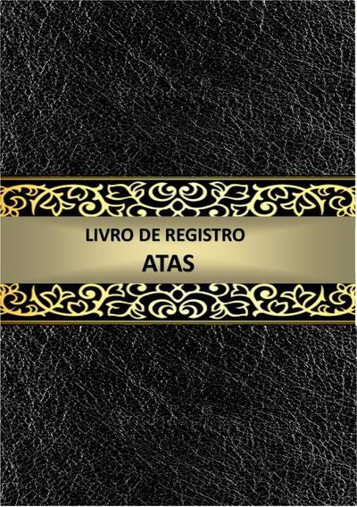 Livro De Registro De Atas - 50 Folhas