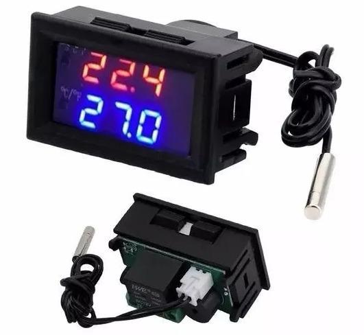 Controlador De Temperatura Arduino W1209wk Chocadeira