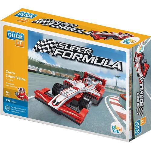 Bloco De Montar Click It Cis Super Formula