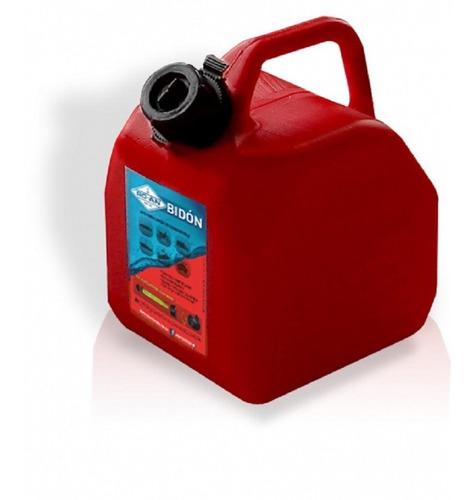 Imagen 1 de 2 de Bidón Combustible Nafta  Homologado Rojo 25 Litros