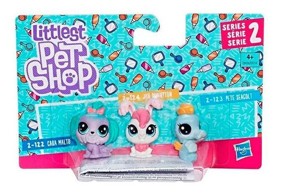 Trio Mini Mascotas E0214 Littlest Pet Shop Hasbro Assortment