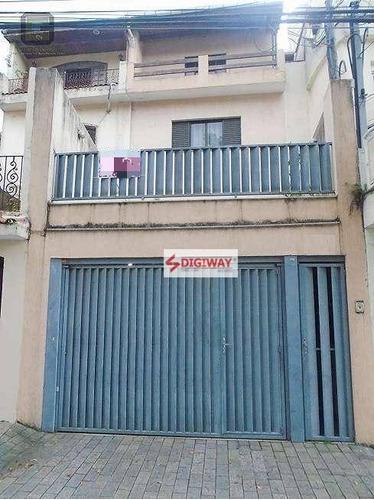 Imagem 1 de 21 de Sobrado Com 4 Dormitórios À Venda, 252 M² Por R$ 1.500.000,00 - Cambuci - São Paulo/sp - So0497