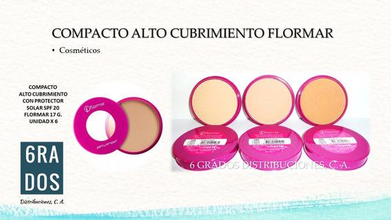 Compacto Flormar Alto Cubrimiento + Spf 20