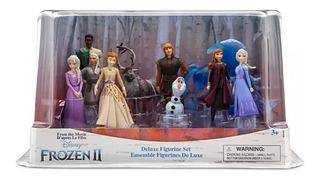 Disney Store Set 10 Figurines Frozen 2 Deluxe, 2019