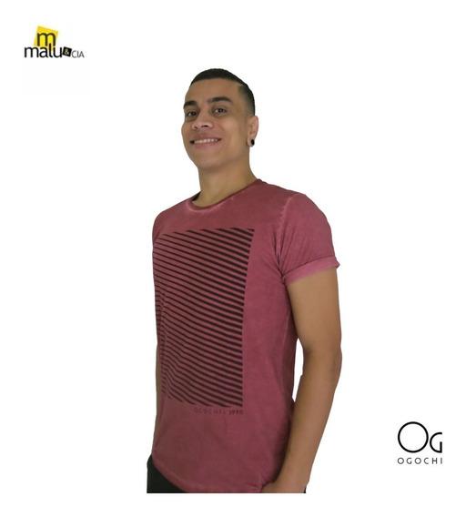 Camisa Camiseta Masculina Gola O Ogochi Original - Promoção