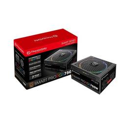 Fonte 750w Tt Smart Pro Fully Mod/rgb/80+bronze Thermaltake