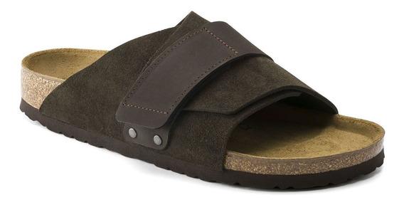 Birkenstock Sandália Kyoto Vl Mocha Regular En 12x