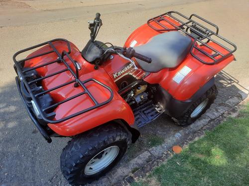 Quadriciclo Kawasaki Prairie 400 4x4  (ano 1999)