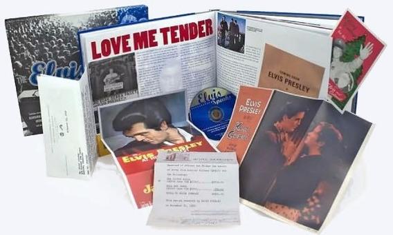 The Elvis Treasures - Livro Documentos Cd Memorabilias Fotos