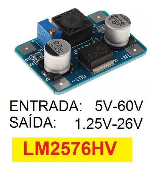 Lm2576hv Regulador Tensao 60v Dc Pra Esp32 8266 Nao Lm2596hv