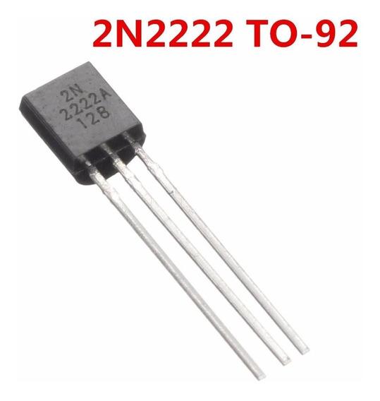 Transistor Npn 2n2222 Pacote Com 100 Unidades