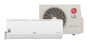 Ar Condicionado Split Lg Dual Inverter 9.000 Btu/h Frio S4-q