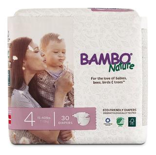 Bambo Nature Premium Pañales Para Bebé (elija El Tamaño