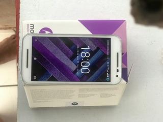 Celular Motorola Moto G3 Turboedição Caixa/acessórios Xt1556