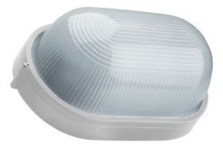Tortuga Oval Aluminio Lisa Grande 28cm Apto Led