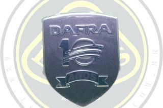 Emblema Comemorativo 10 Anos Dafra Maxsym 400 Original 51551
